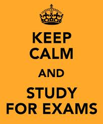 keep calm exams